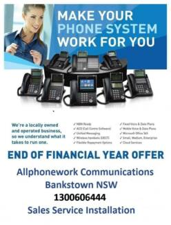 Phone and Computer Cabling Allphonework Communications Sydney City Inner Sydney Preview
