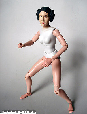 1 6 10 1 2  Princess Leia Head   Body By Sideshow Anh Star Wars For 12  Female