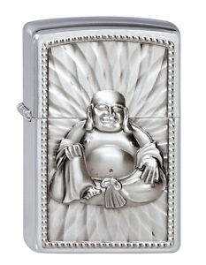 Original-ZIPPO-Buddha-heavy-Plate-lighter-Special-Edition-very-rare-and-mint