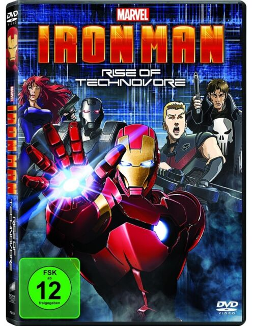 DVD * Iron Man: Rise of Technovore * NEU OVP * Marvel