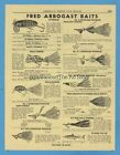 Arbogast Vintage Fishing Magazines