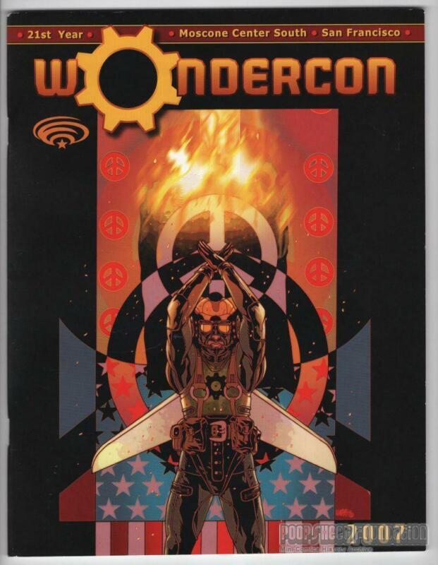 WONDERCON 2007 program book TONY HARRIS comic-con SERGIO ARAGONES Al Feldstein