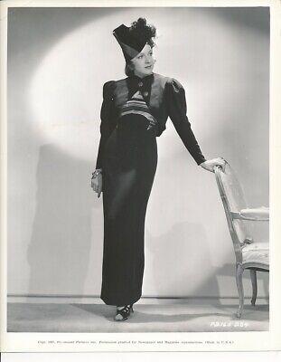 SHIRLEY ROSS Starlet Original Vintage 1937 Paramount FASHION Portrait Photo