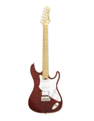 Aria 714 MK2 Fullerton Electric Guitar Ruby Red