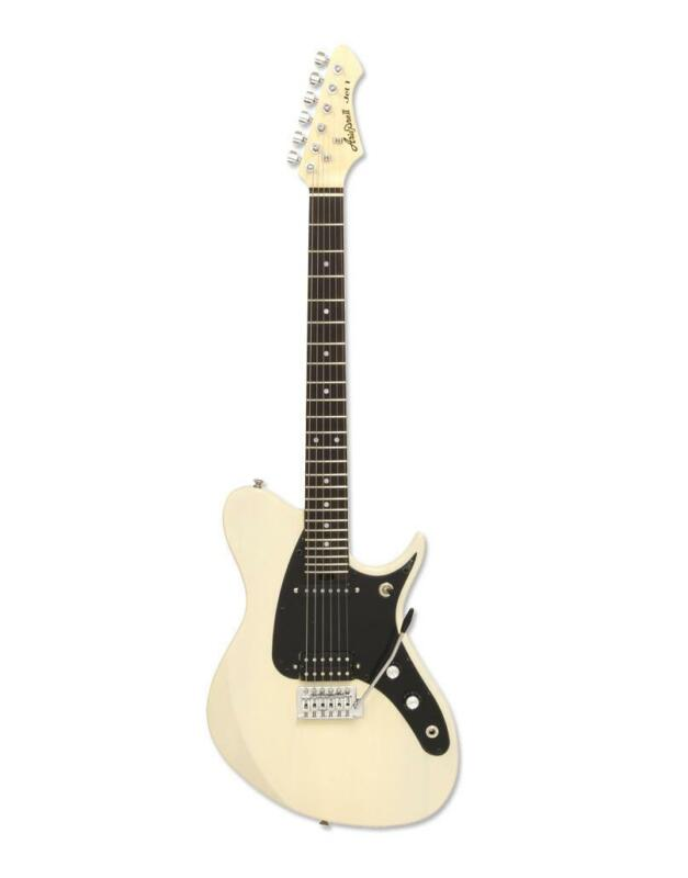 Aria JET 1 SVW Solid Body Electric Guitar SVW (See-Through Vintage White)