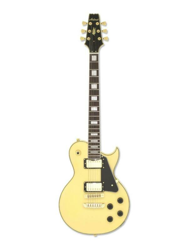 Aria PE 350CST AGWH Solid Body Electric Guitar Aged White