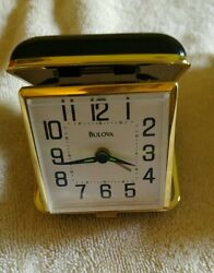Bulova Reliable II Alarm Clock B6112