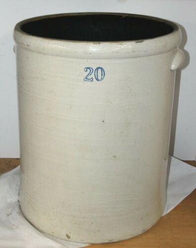 Vintage Huge 20 Gallon Crock