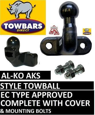 Towball Tow Ball Kit for ALKO AKS Stabiliser Hitches with Cover (Long Reach)