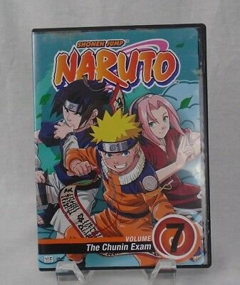 Naruto - Vol. 7: The Chunin Exam (DVD, 2006, Dubbed) Animated