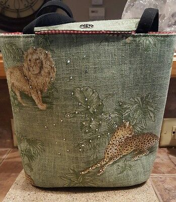 fashion lion/tiger jungle handbag