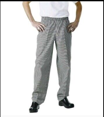 New Chef Works Nbcp-000 Xxsxs2xl4xlcheckered Baggy Designer Chef Pants