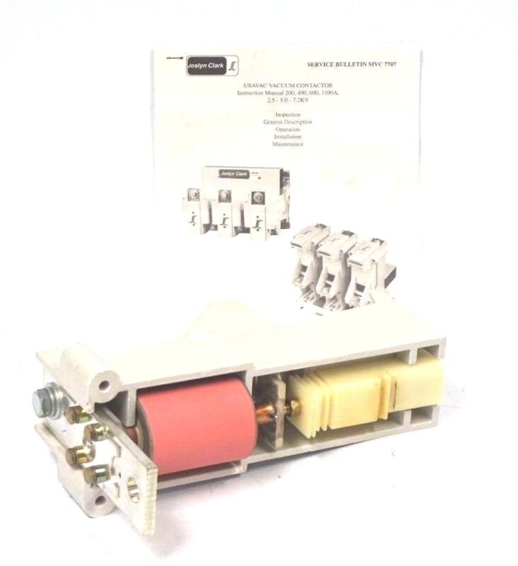 USED JOSLYN CLARK BUL. 7707 USAVAC CONTACTOR #240 600A