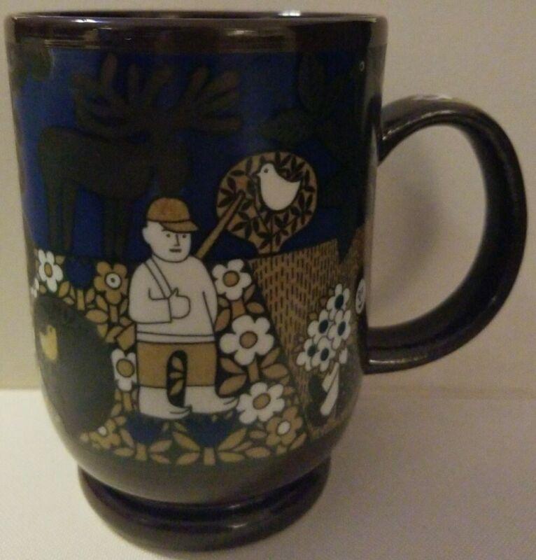 Kirin Beer Mug Collection 1986 Arabia Finland Mug