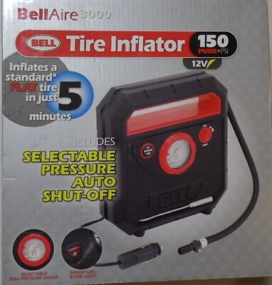 BELL BELLAIRE 3000 TIRE INFLATOR 12V 150 PSI