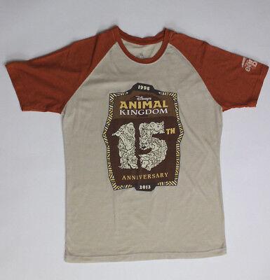 Disney World Resort Animal Kingdom Park 15th Anniversary Earth Day Tee Small