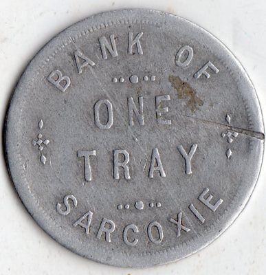 Sarcoxie Missouri Bank Of Sarcoxie Merchant Good For Trade Token