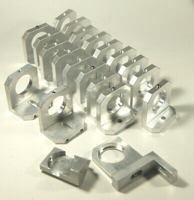 Coherent Laser 1 Dia. Static 3 Point Mirror Mounts Aluminum Lot Of 21 Pieces