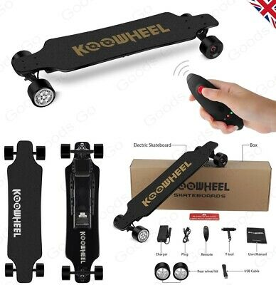 NEW 2nd Gen 3DM Koowheel Electric Longboard Skateboard 2x350W ✮UK SELLER✮
