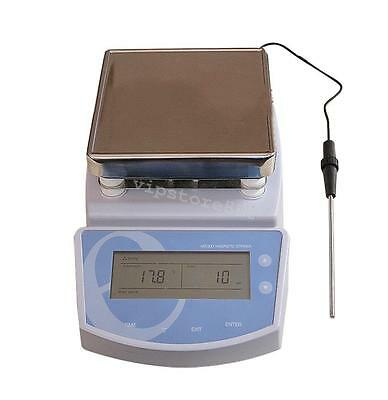 Sale Heating Hot Plate Magnetic Stirrer Mixer Heater Chemical Laboratory 300