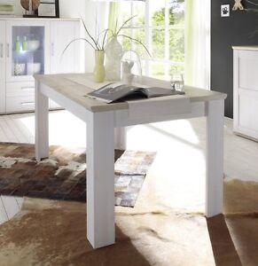 esstisch landhaus ebay. Black Bedroom Furniture Sets. Home Design Ideas