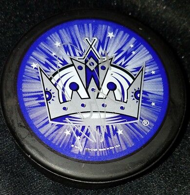 NICK DESLAURIERS MANCHESTER MONARCHS  AHL signed Autographed HOCKEY PUCK NO COA