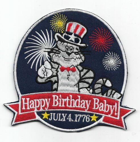 "F-14 Tomcat ""Happy Birthday July 4th, 1976"" patch"