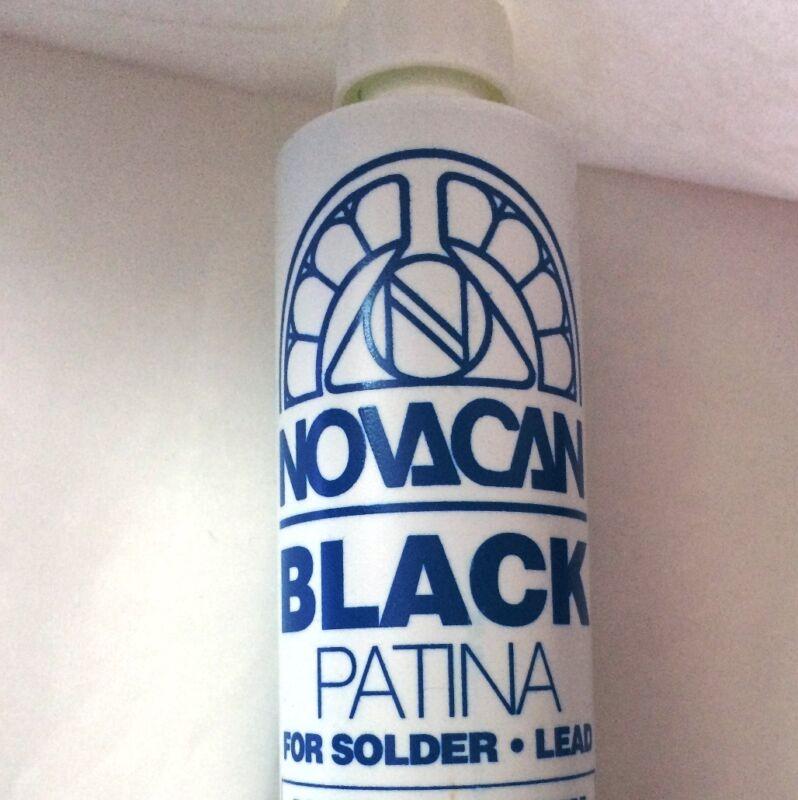 BIG - 16 oz BLACK Patina for SOLDER Changes Silver Solder to BLACK