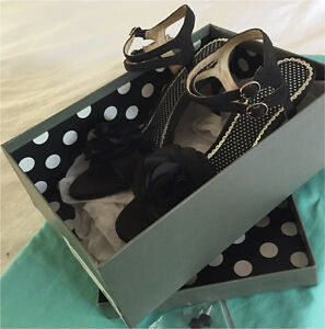 JIGSAW BLOSSOM SANDLE Black Size 39 (worn once) Frenchs Forest Warringah Area Preview