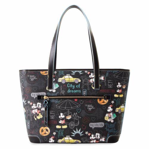Mickey and Minnie NEW YORK CITY Disney Dooney & Bourke TOTE NEW IN PLASTIC