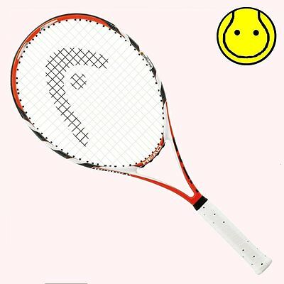 NEW Head MicroGel Radical MP 4-1/4 Grip STRUNG Tennis Racquet - Midplus for sale  Shipping to India