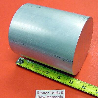 6 Aluminum 6061 Round Rod 5 Long T6511 6.00 Diameter Solid Lathe Bar Stock