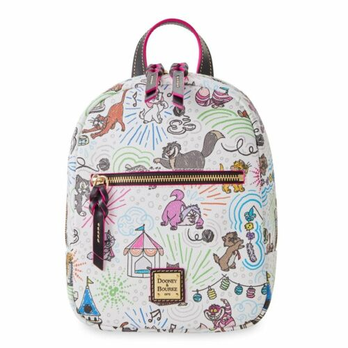 Disney Parks Dooney & Bourke DISNEY CATS BACKPACK NEW IN PLASTIC FREE SHIPPING