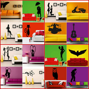 meSleep-Set-of-4-Decorative-Wall-Sticker-Wall-Decals