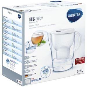 BRITA-Marella-XL-MAXTRA-Plus-3-5L-Water-Filter-Table-Jug-1-Cartridge-White
