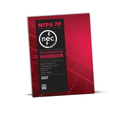 Nec National Electrical Code 2017 Handbook - New Usa Free Ship