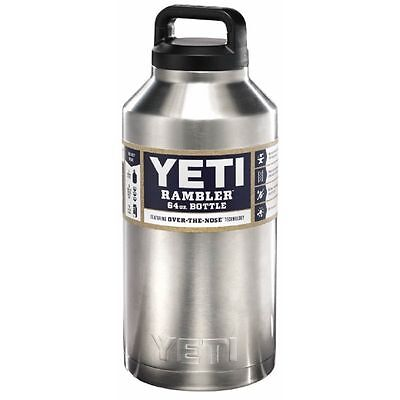 YETI Rambler 64 oz Bottle, Thermos, Tumbler Stainless Steel, 64oz Insulated