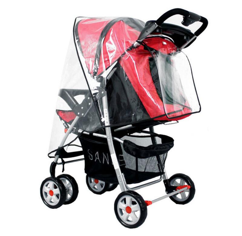 Standard Stroller Weather Shield Stroller Rain Cover Canopy Universal Size