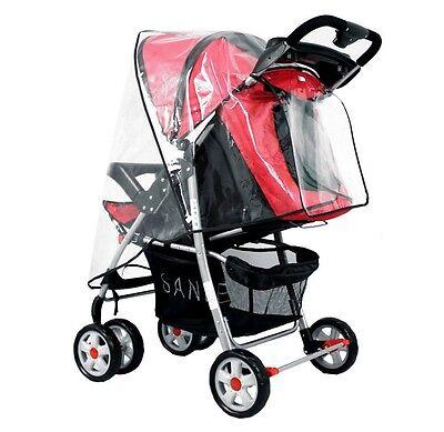 New Baby Trend Rain & Wind Snow Sleet Cover Single Jogging Stroller