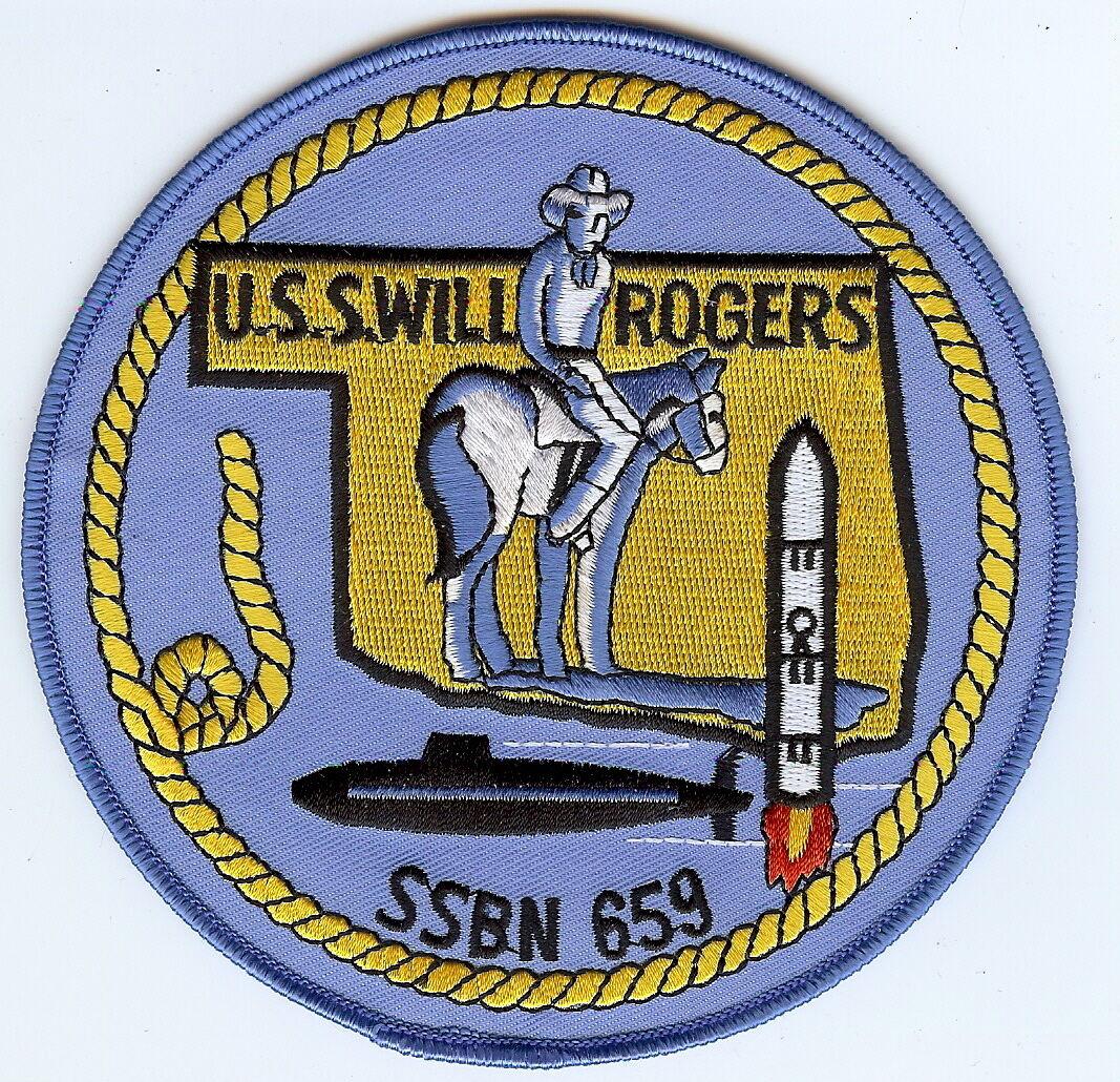 USS Lewis /& Clark  SSBN 644-3 Inch Crest BC Patch Cat No C5219