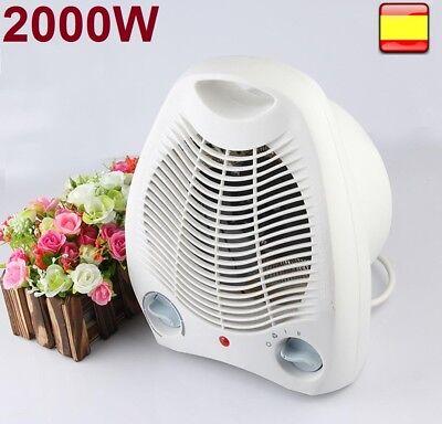 Calefactor de aire radiador estufa 2000w casa baño funcion ventilador