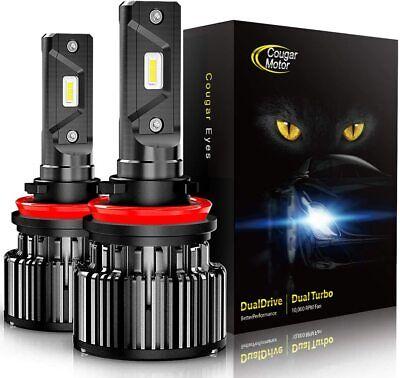 Cree LED Headlight Kit H8 H9 H11 Conversion Light Bulbs 60W 10000LM 6000K White