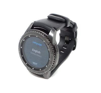 Samsung Gear S3 Frontier SM-R760 GPS Stainless Steel Bluetooth Smartwatch Bare