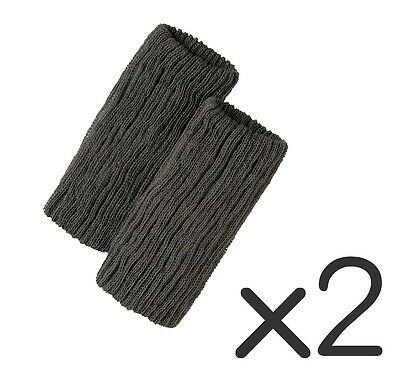 Far-infrared effect warm and stretchy leg warmer 2 pieces x 2 sets Made in Japan