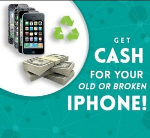 Quick Cash for your Broken iPhones $$