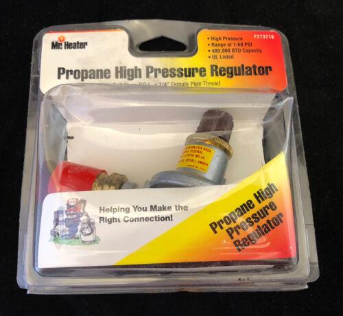 High-Pressure Regulator with P.O.L,No F273719,  Mr Heater Corp