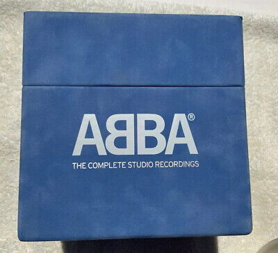 ABBA - The Complete Studio Recordings 9 CD, 2 DVDs, Limited Edition Box Like New