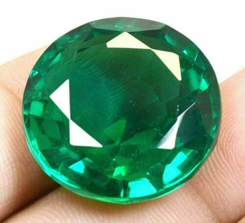 VVS 61.65 CT Colombian Natural Green Emerald CERTIFIED Loose Gemstone GS0306