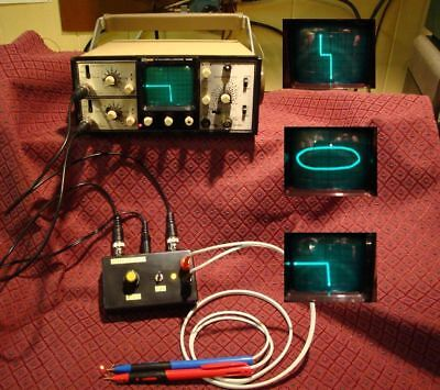 Transistor Diode Curve Tracer, Component Tracker Tester + Probes & BNC Cables