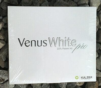 Venus White Pro 22 Patient Kit Teeth Bleaching Kulzer 40005167 Exp2021-07